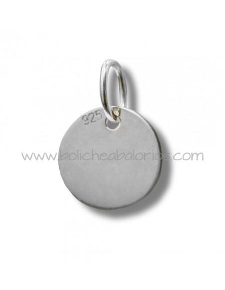 Medalla 25 mm plata de ley