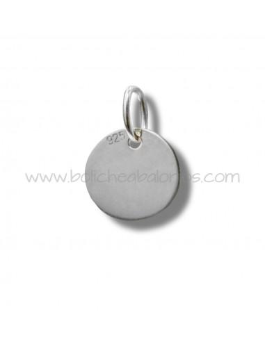 Moneda de plata de ley lisa para grabar de 20 mm