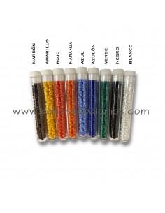 Abalorio cristal colores 2 mm