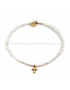 Collar de Perlas de Río 4 mm