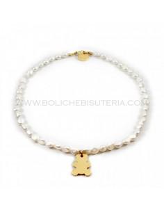Collar de Perlas de Río 7mm