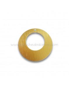 colgante de aluminio redondo de 50 mm