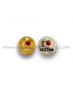 Medalla I love coffee