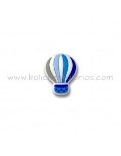 Globo silicona para chupeteros en azul