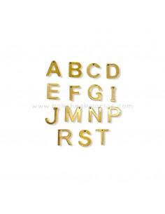 Letras de Acero Dorado 10 mm