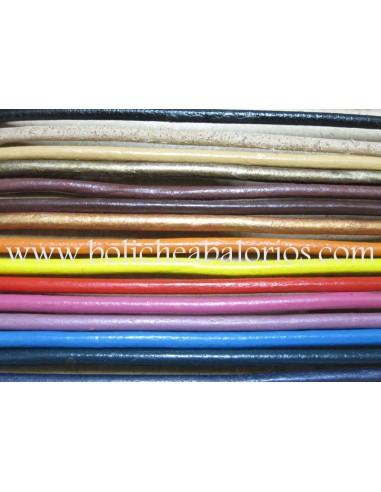 Cordón de Cuero Redondo de 3mm