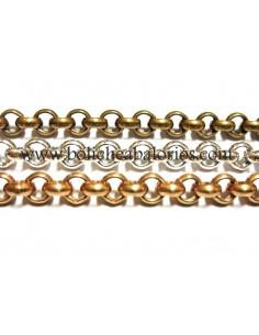 Cadena Rolo de 5 mm con Baños