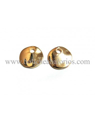 Moneda Oro 12mm para Grabar Zamak