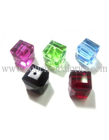 Cubo 6mm Cristal de Swarovski