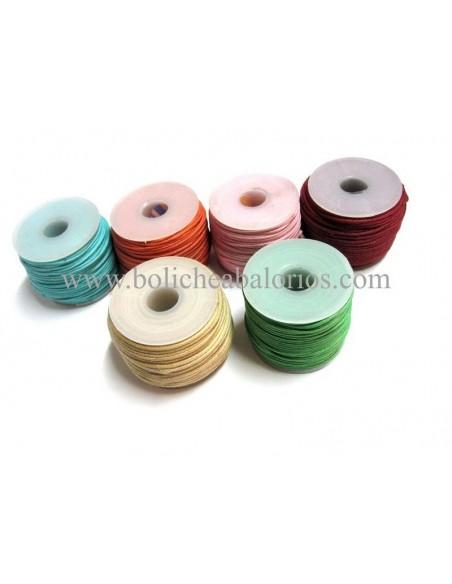 Rollo 15m Cordón de Algodón 1.5mm