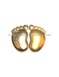 Colgante Pies 39 mm dorado