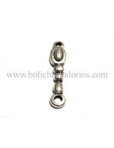 Conector Ovalado 2 anillas Alargado Metal