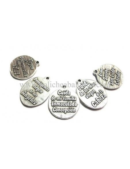 Medallas de Santos o Virgenes Zamak