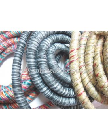 Cordón redondo con hilos multi 10 mm