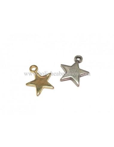 Colgante Estrella 15mm Zamak