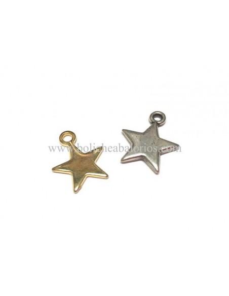 Colgante Estrella 12mm Zamak