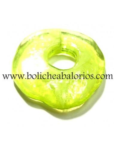 Resina Donut Verde Pistacho