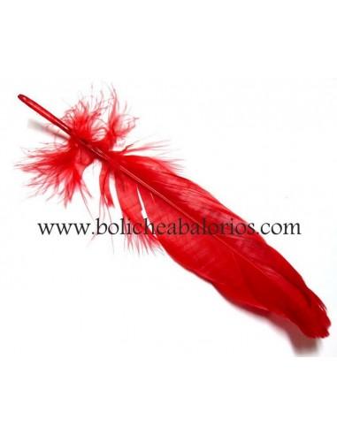 Pluma de Colores 18cm