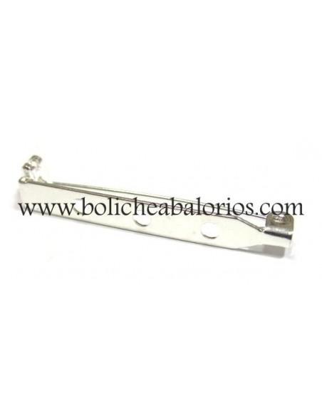 Broche con aguja de 40mm
