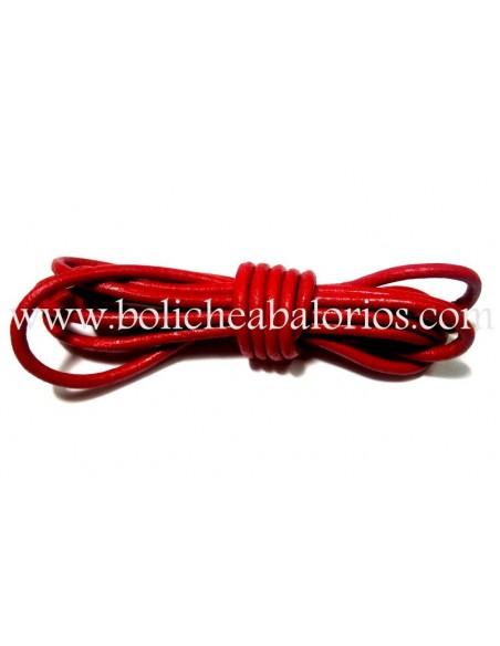 Cordón de Cuero Redondo de 1.5mm