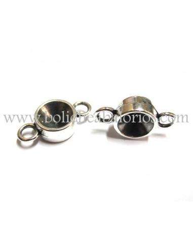 Conector rivoli 10mm 2 anillas Zamak