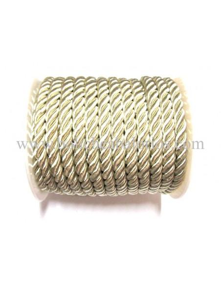 Cordon de seda retorcido 5mm