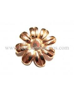 Pin Flor Baño de Oro Rosa para Brazalete