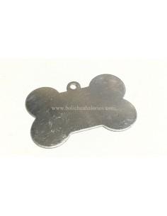 Colgante hueso perro en aluminio