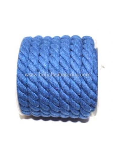 cordon de algodon retorcido de 10 mm
