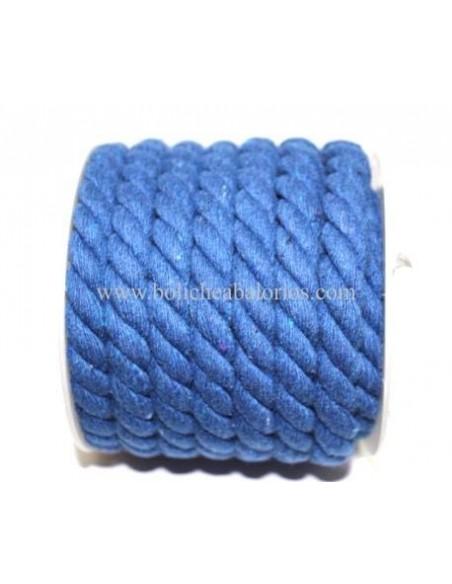Cordón de Algodón Retorcido 10mm