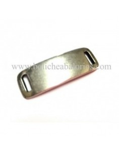 Conector Rectangular 37x17mm Zamak