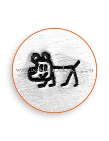 Buril Metal para Estampacion DOG