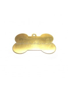 Colgante hueso dorado