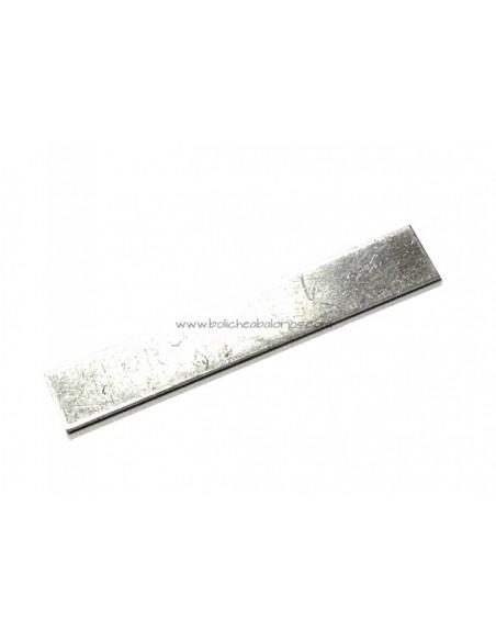 Tira metal Aluminio 4 x 6