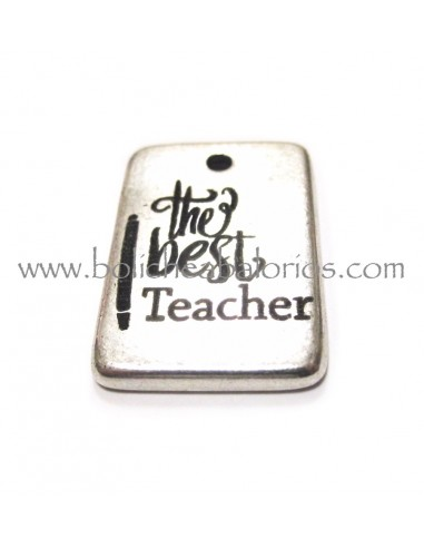 Placa grabada The Best Teacher