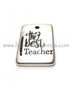 Placa grabada The Best Teacher 23x18
