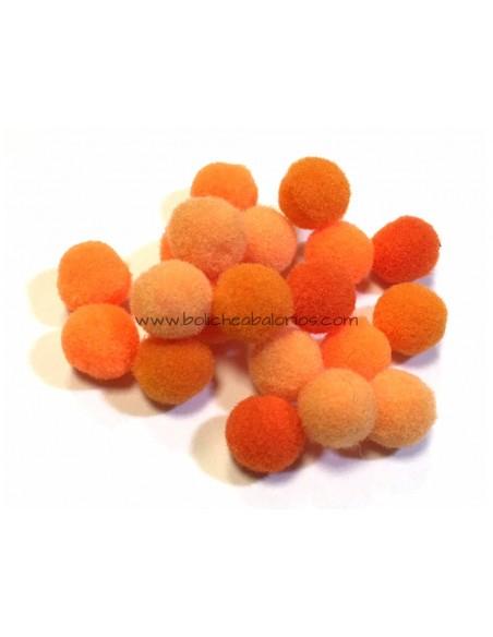 Bolas de Pompón de Nylon 10 mm