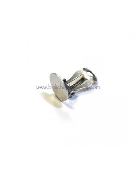 Pendiente de clip con Base 10mm para Pegar