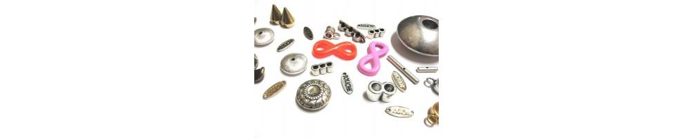 Conectores o entrepiezas de zamak para hacer pulseras