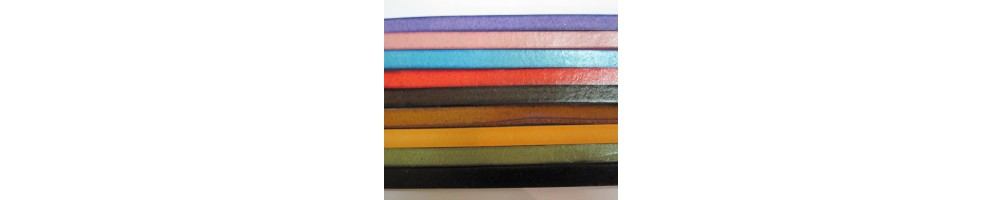 Cuero plano para pulseras de cuero y zamak