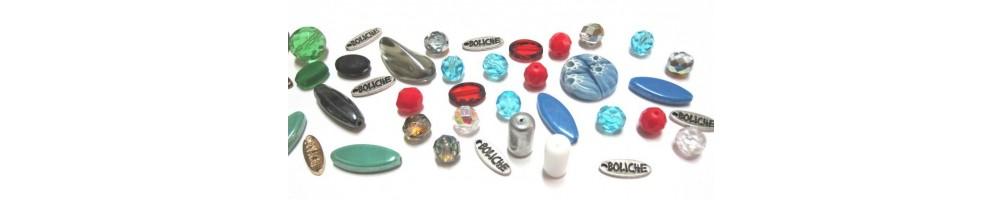 Cuentas de cristal de bohemia facetado o liso