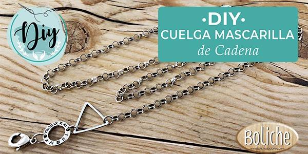 DIY - Cuelga Mascarilla de Cadena