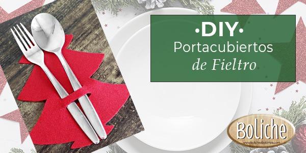 DIY - Portacubiertos de Fieltro